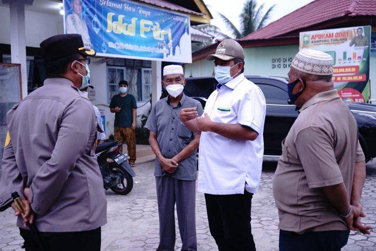 Perangi Pandemi Covid-19, Bupati Alfedri Ingatkan Warga Disiplin Prokes